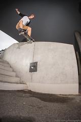 Nico, sw noseslide (Fabio Stoll) Tags: bern skateboarding skate skatephotography skateboard slide sony alpha 99 zeiss 85mm f14 godox ad360 switzerland ajvt switch noseslide streetskate