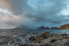 Elgol and Black Cuillins (Karen Burgoyne) Tags: blackcuillins cuillins skyefall16 sunset elgol blackcullins skye isleofskye november autumn scotland