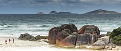Boulders at Squeaky Beach, Wilson's Prom, victoria Australia (tsmpaul) Tags: boulder coast sea ocean beach rock sand islands wilsonsprom victoria australia canon eos600d kissx5 rebelt3i
