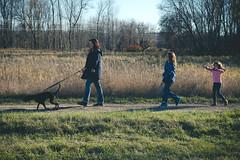 (sam...) Tags: fall walk kids vermont burlington intervale dogs walking