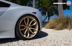 Acura NSX on HRE P201 - Keys (wheels_boutique) Tags: hre hrewheels hreperformancewheels p201 frozengold pirelli acura nsx acuransx wheelsboutique wheelsboutiquecom teamwb lamborghini huracan