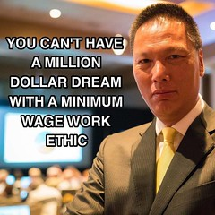 How big is your dream? Does it match your work ethic?