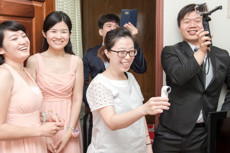 台南婚攝 婚禮紀錄 情定婚宴城堡 C & M 045