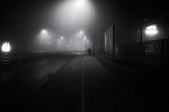 CologneSiegburgerFoggyNight (bschaefers) Tags: streetphotography street blackandwhite bw