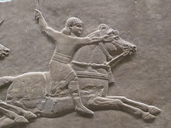Rider (Aidan McRae Thomson) Tags: nineveh relief britishmuseum london assyrian sculpture mesopotamia ancient