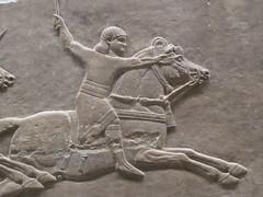 Rider (Aidan McRae Thomson) Tags: nineveh relief britishmuseum london assyrian sculpture mesopotamia ancient