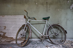 Bike... (aphonopelma1313 (suicidal views)) Tags: abandoned urbanexploration urbanexploring urbex urban abandonedplaces decay igurbex rotten urbexworld urbanart urbanexplorer photography verlassen verfall leerstand schandfleck urbandecay exploreeverything lostplaces canon ruins forgotten