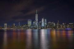 New York City (karinavera) Tags: travel sonya7r2 newyork water longexposure manhattan night cityscape city