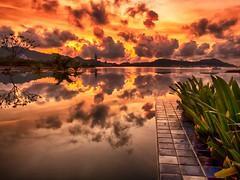 IMG_9763 ~ mentari pagi menjengah hari (alongbc) Tags: langkawi kedah malaysia travel places trip reflections canon eos700d canoneos700d canonlens 10mm18mm wideangle sunrise cloud sky