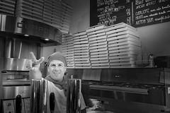 Pizza is ready (heinzkren) Tags: italiener pizza pizzaria lamia bar italia ristorante benvenuti ristoranteconpizza baritalia service chefdecuisine pizzabcker mann man stimmung perfectservice kche ofen pizzaofen gastronomie kitchen italian lokal wien vienna lerchenfelderstrase 7bezirk neubau austria sterreich restaurant italiano friendlyservice portrait wirt schachtel verpackung positivevibrations blackandwhite bw biancoenero panasonic g70 olympus714mm zuiko pizzeria cook koch employee mitarbeiter typ weitwinkel food speise essen bandana kopfbedeckung italy italien bedienung team mannschaft gast gastwirtschaft saturday menue monochrom monochrome kerl