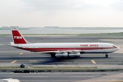 N760TW Boeing 707-331B TWA Trans World Airlines (pslg05896) Tags: n760tw boeing707 twa transworldairlines jfk kjfk newyork