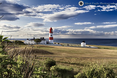 Lighthouse, South Tyneside Metropolitan (Silent Eagle  Photography) Tags: sep silent eagle photography silenteaglephotography lighthouse southtynesidemetropolitan metropolitan sea landscape plants sky red tynewear outdoor clouds silenteagle09 weather canon 7d iso100