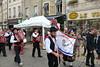 A Beaune pour la vente des vins 2016 (godran25) Tags: beaune france bourgogne burgundy vin wine ventedesvins rue procession musique bannière portugal confrérie