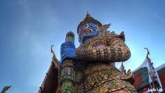 Palais Royal, Bangkok (03) (Ld\/) Tags: palace grand bangkok thailande thailand king guard city citytrip  bhumibol adulyadej garde gardien