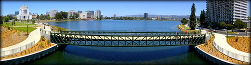 Lake Merritt Restoration Panorama