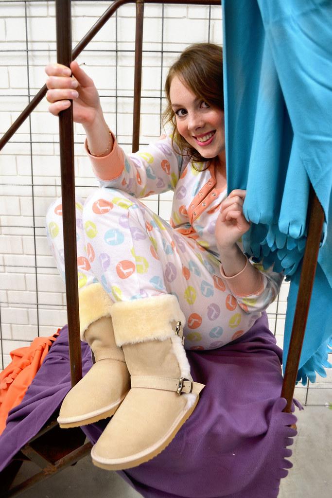 7444541134 Bondi Ugg Adelaide Winter 2013 Ugg Boot Pyjamas Photoshoot (Lace and  Buckles) Tags