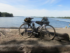 The XO-3 at the confluence of the Columbia and Willamette Rivers. (urbanadventureleaguepdx) Tags: bridgestone columbiariver willametteriver kelleypointpark xo3