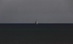 Loneliness (coollessons2004) Tags: ireland sea sailboat boat ship sail sloop irishsea