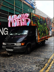 Mother / Tizer (Alex Ellison) Tags: urban truck graffiti painted lorry van eastlondon wtm wordtomother