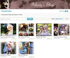 My Etsy Shop ( Felicity ) Tags: birds necklace doll ring bracelet pullip obitsu