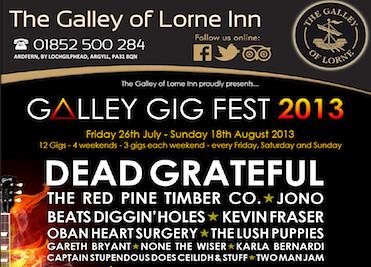 galley gig fest 2013