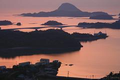 Takabutoyama (tomosang R32m) Tags: sunset japan observation 夕陽 kumamoto amakusa 熊本 名勝 天草 日本の夕陽百選 karabuto 高舞登山 高舞登山展望所