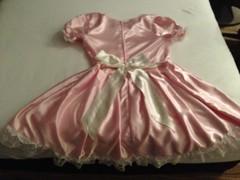 option 2.2 back (shellyanatine) Tags: pink dress crossdressing sissy frilly