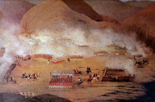 Batalla de Ayacucho   reafirmó la Independencia de Chile, autor desconocido