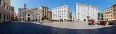 street city sky italy panorama rome building church... (Photo: lorenzoviolone on Flickr)