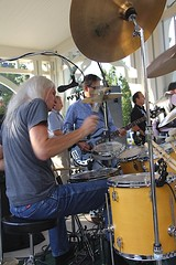North of 7 (Unionville BIA) Tags: street music ontario drums concert outdoor live main north 7 millennium nights bandstand thursday markham unionville
