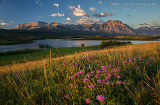 Dawn at Maskinonge Lake, Waterton Lakes National Park, Alberta, Canada