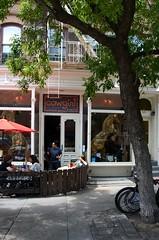 Cowgirls on Hudson Street (Eddie C3) Tags: nyc newyorkcity manhattan westvillage restaurants storefronts streetscenes storewindows greenwichvillage nikond7000