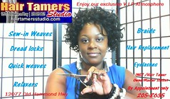 Full service hair salon (Hair Tamers Studio) Tags: girls black eye beauty shop hair 1 women lashes natural tracks replacement like curls twist visit follow growth tips locks salon info wigs dreads quick knots rasta hairstyles dreds weft weaves updos perms straightenhair lengthen kinkytwist wigmaking boxbraids hairlosssolutions seneglese flickrandroidapp:filter=none capweaves