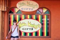 Mamma Marley's (Davin G Photography) Tags: portrait 35mm canon store lisa jamaica mamma ochorios marleys runawaybay 5dmk3 davingphotography snapseed
