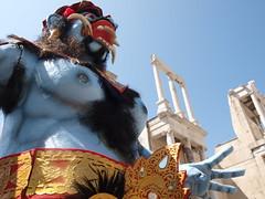 the ticklish monster (Carine&Tom) Tags: amphitheatre bulgaria romain trajan plovdiv bulgarie emperortrajan amphithatre  philippopolis   plovdivromantheatre thtreromaindeplovdiv