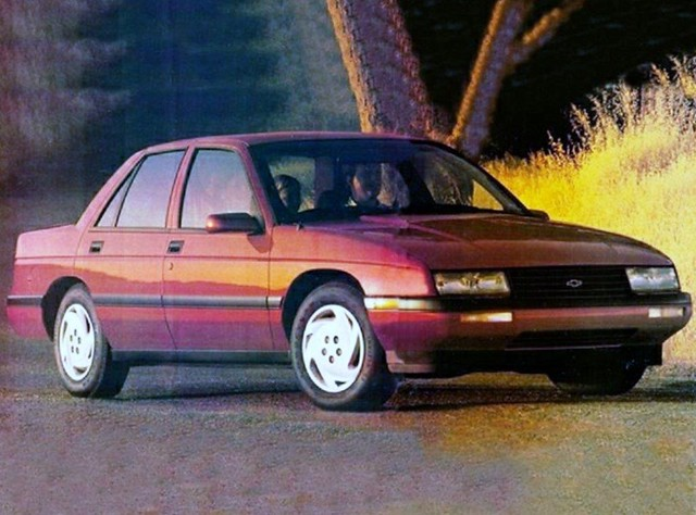 auto chevrolet car sedan corsica chevy vehicle 1992 dfirecop