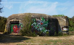 blockhaus Ile d ' Oleron, la Perroche (thierry llansades) Tags: streetart wall painting army graffiti mural fort graf wwii ile case spray atlantic peinture urbanart bunker ww2 17 block battlefield graff larochelle fortification aerosol bloc fortifications guerre bauwerk bombing militaire ileder forts batterie charente blockhouse pillbox arme blockhaus graffitis fresque atlantik oleron poitou iledere atlantique bunkers caserne graffs atlanticwall blocs atlantikwall casemate saintonge charentesmaritime iledoleron charentes bauwerke charentemaritime fresques murdelatlantique poitoucharentes lapallice pillboxes blockaus aunis lacotiniere casernes frenchgraff saintpierredoleron laperroche saintgeorgesdoleron fortif blockouse bauwerque fortiffs