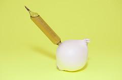 (minesandted) Tags: stilllife white yellow nikon zoom flash onion gmo liquid ogm oignon 2470 d700 sb910