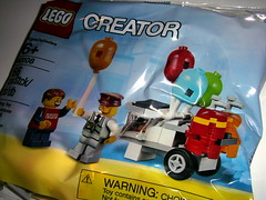BALLOON CART (kingkong21) Tags: lego balloon cart creator 40108 polybag