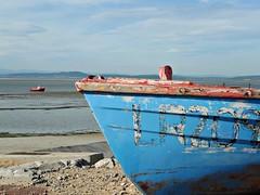 Hopeful (Squatbetty) Tags: beach boat fishingboats morecambe hopeful morecambebay