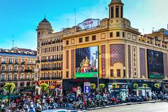 Callao on Calle Gran Via - Madrid Spain (mbell1975) Tags: madrid street espaa shopping calle spain europe theater theatre metro center via espana spanish gran espaol callao pedistrian communityofmadrid ilobsterit