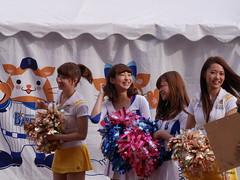 dianaHoneys  / YY Park (zaki.hmkc) Tags: baseball cheer miho  diana2014 diana honeys hawks denabaystars