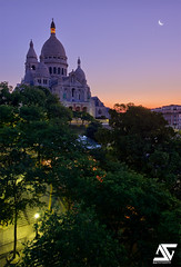 Good Morning (A.G. Photographe) Tags: paris france sunrise french nikon montmartre sacrécoeur ag nikkor dri français hdr parisian anto d800 xiii 2470mm parisien antoxiii agphotographe