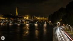 From the bridge (JSinnay) Tags: paris tower night canon eos exposure tour arts eiffel des 7d pont pause neuf nuit 2014 longue