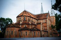 Cathdrale Notre-Dame de Sagon (vinh4993) Tags: city church de notredame vietnam cathdrale saigon hochiminhcity hochiminh sagon