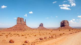 Monument Valley 4K Wallpaper / Desktop Background