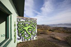 tea with a view (eb78) Tags: graffiti streetart marinheadlands sf sanfrancisco bayarea hill88 tea ca california northbay