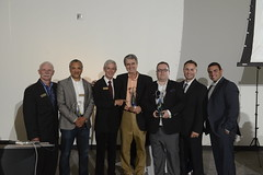 "2012 and 2013 Pauli Winners L-R: Paul Subject, TJ Machado, Dan Lawrie, Michael Feric, David Vanheukelom and Patrick McGuire, Stefano Plati • <a style=""font-size:0.8em;"" href=""https://www.flickr.com/photos/124986169@N08/14465181937/"" target=""_blank"">View on Flickr</a>"
