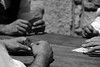 Gioco delle carte (Margcoss) Tags: blackandwhite hands mani biancoenero cartedagioco margcoss