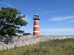 The lighthouse at Närsholmen (radiowood) Tags: lighthouse sweden gotland närsholmen